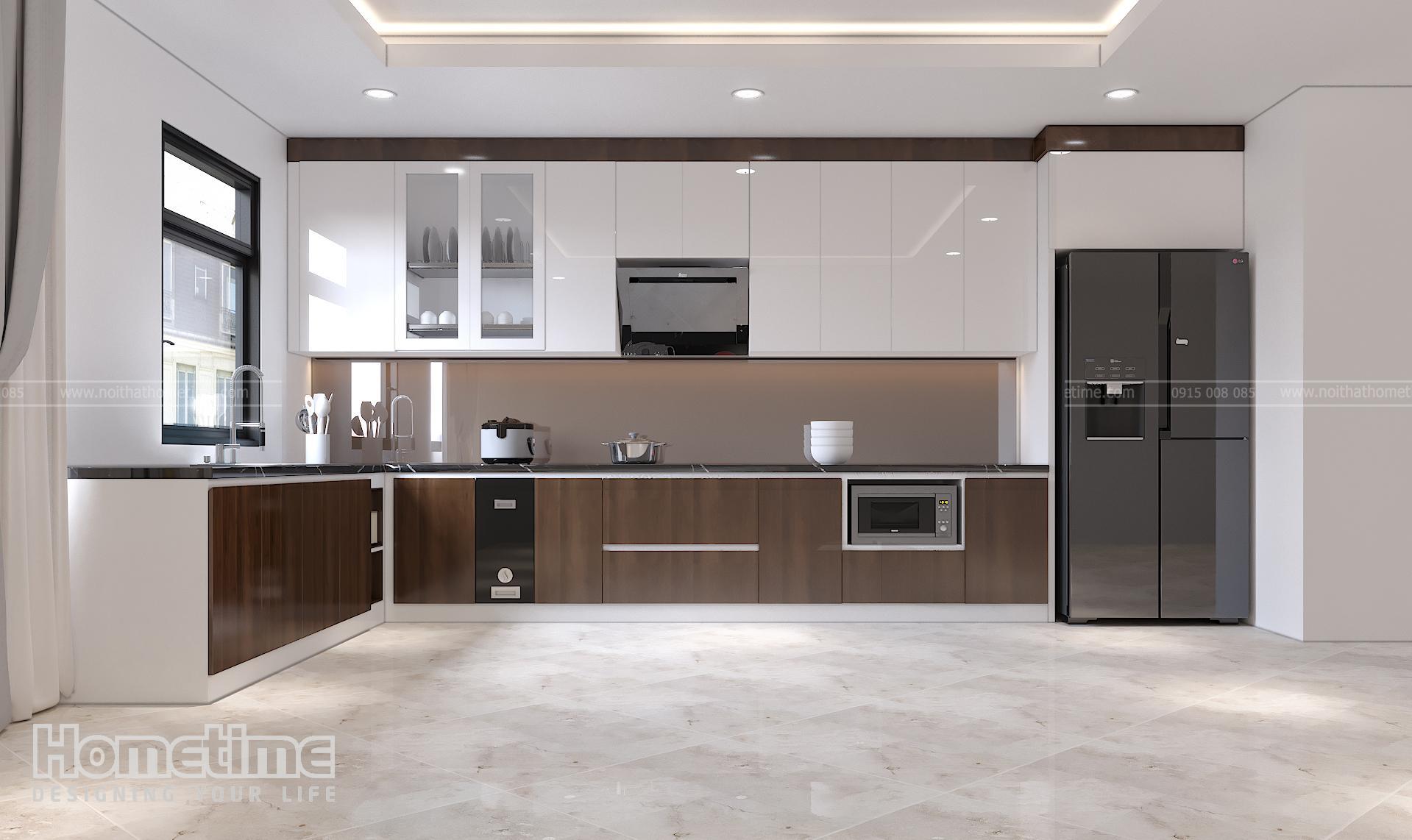 Mẫu tủ bếp đẹp tại Hải Phòng