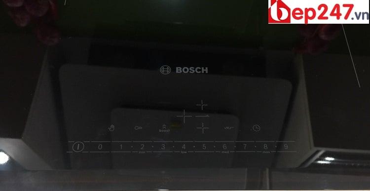 Bếp Từ Bosch PIJ651FC1E có bảng điều khiển dễ dàng sử dụng