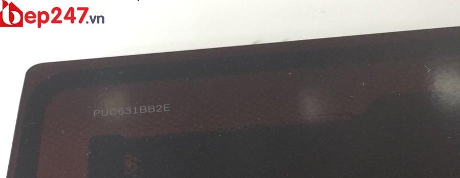 Chi tiết được in chìm trên Bếp Từ Bosch PUC631BB2E
