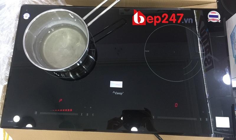 Bếp từ Canzy CZ 68B có thiết kế thanh lịch tinh tế