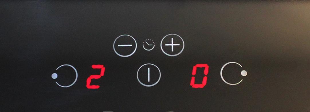 Bảng điều khiển Touch slider của bếp Từ Cata IB2 Plus