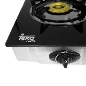 Bếp gas Teka GXL 2G có núm vặn màu đen