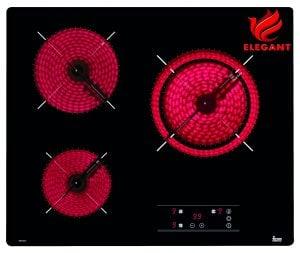 Bếp điện Teka TB 6310 có thiết kế lắp đặt âm bàn