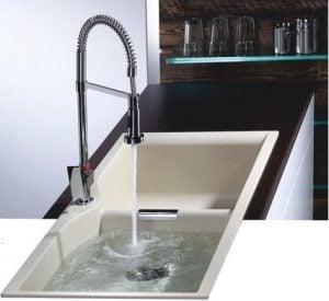 Vòi rửa Teka KOBE PRO phù hợp với mọi căn bếp cao cấp