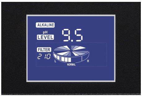 Màn hình LCD 4 inch hiện thị thông tin cho người dùng