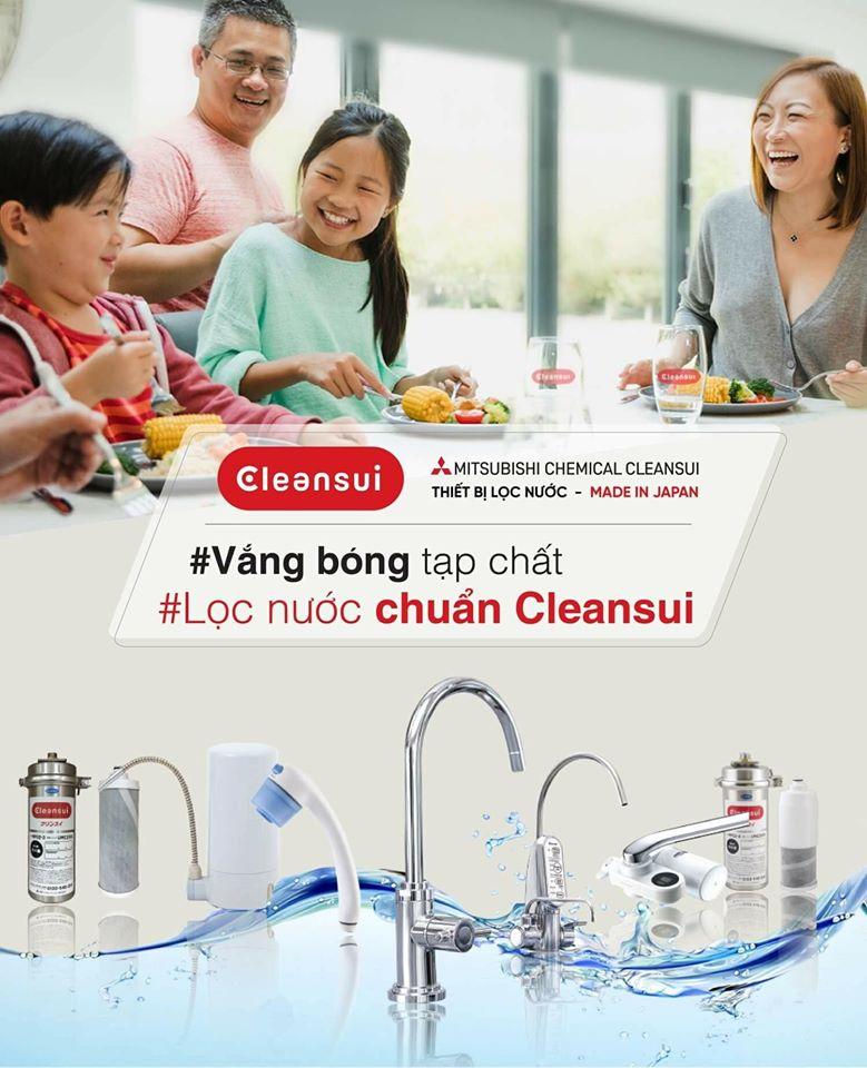 Thương hiệu lọc nước Mitsubishi Cleansui