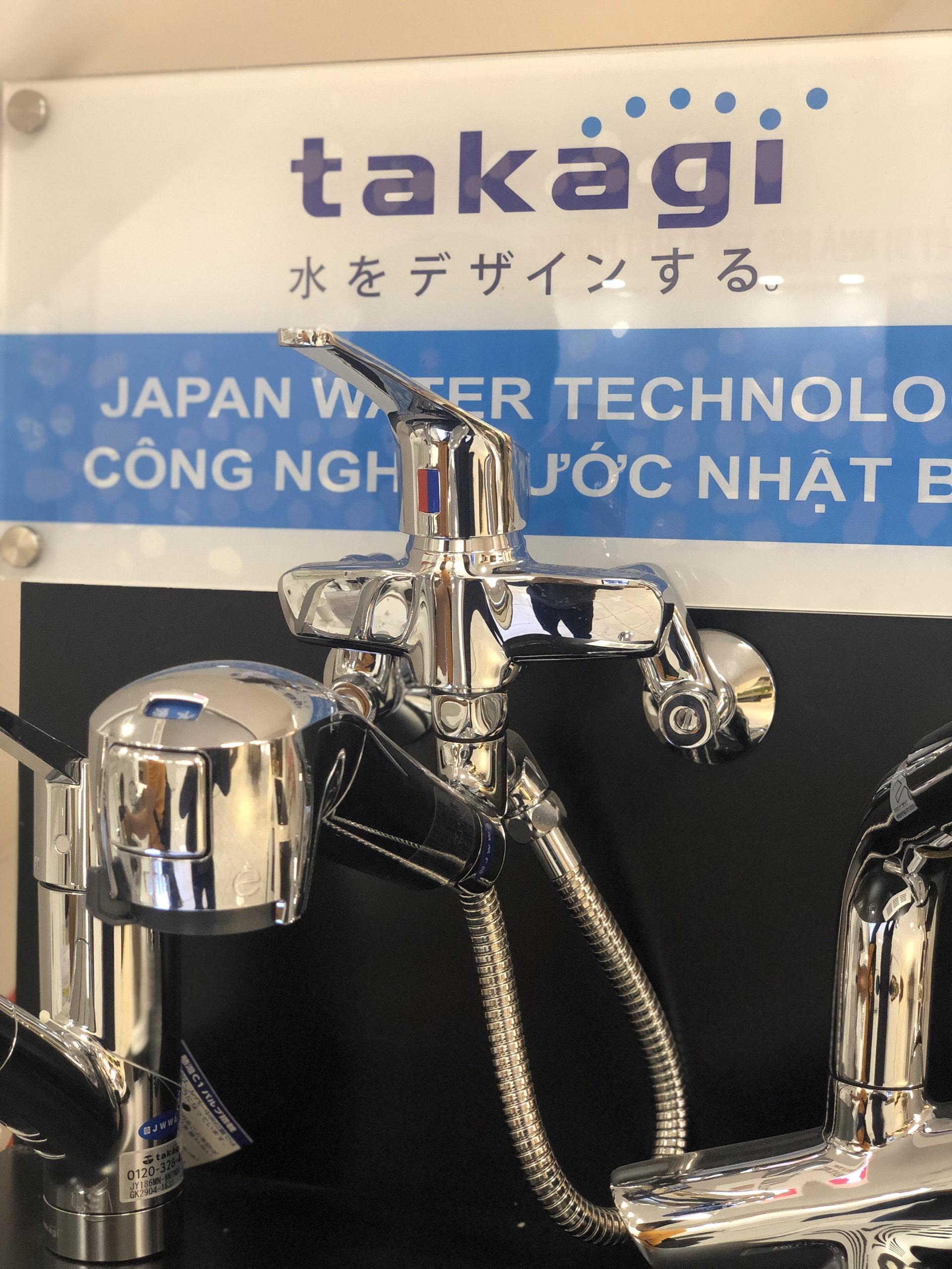 Vòi lọc nước Takagi với thiết kế mới mẻ
