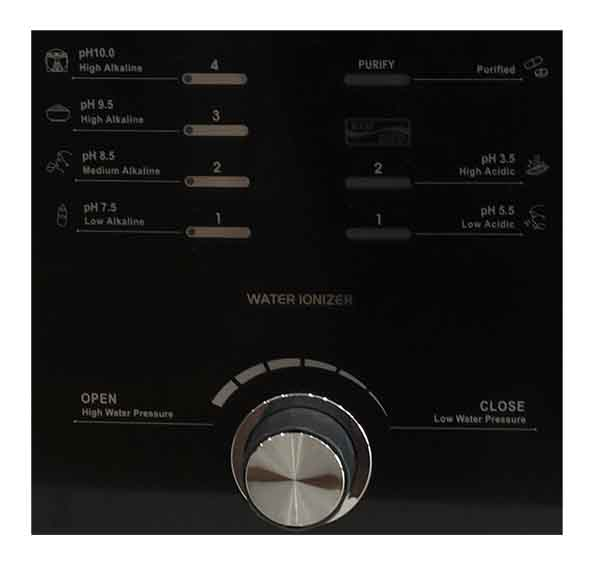 Bảng điều khiển dễ sử dụng với chế độ một chạm