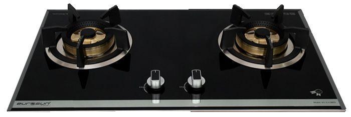 Bếp gas âm EU-GA205S thiết kế tinh tế, dễ dàng sử dụng
